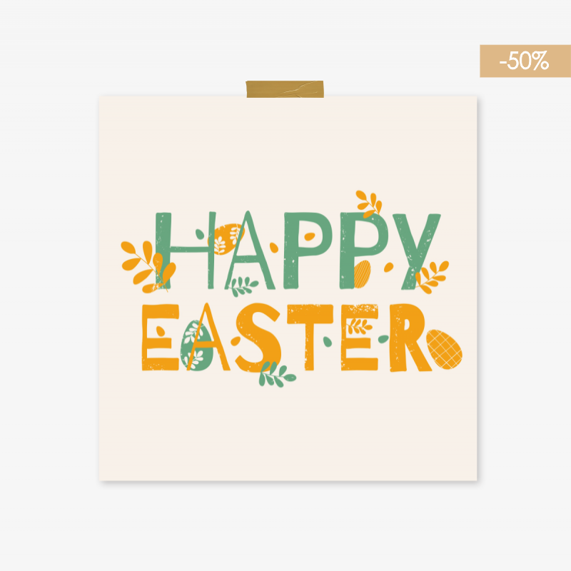 HAPPY EASTER -50%