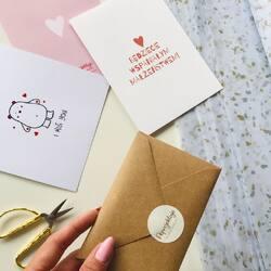 Cześć!✨  Dzisiaj ruszyłam z ostatnimi wysyłkami z tego tygodnia, przed majówką✨  Jakie macie plany? Ja planuje, jeszcze trochę popracować. Ostatnio robiłam koncepcje na nową serię kartek - dawno nie było u mnie nowości... więcej czekajcie cierpliwie💌  Miłego weekendu majowego, trzymajcie się ciepło 🌸  #peprojektuje #card #kartkiokolicznościowe #grafiki #plakaty #sklepzgrafikami #skleponline #wspierampolskiemarki #polskiemarki #instagood #instaphoto #instagram #majówka #majówka2021
