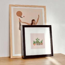 Co powiecie na wykorzystanie kartek, jako mini obrazy w ramkach ? ✨  #peprojektuje #plakaty #kartkiokolicznosciowe #art #kartki #polskiemarki #shoponline #wspierampolskiemarki #loveart #design #designer #instagood #instaphoto #photo #girlboss #girlpower #girlpower